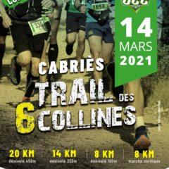 Trail 6 Collines – 14 Mars 2021