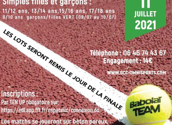 Tennis – Grand Prix des jeunes